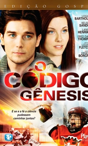 imagem capa O Código Gênesis - casal juntos de olhos azuis