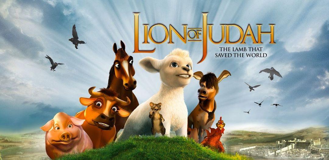 imagem do filme O Leão de Judá - infantil bíblico