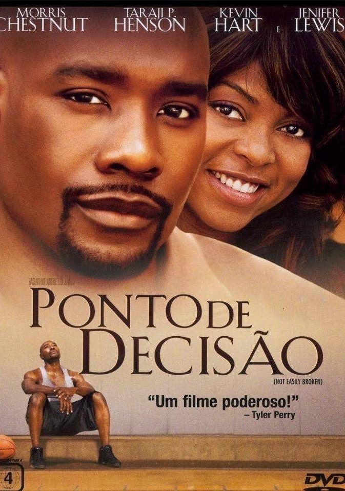 capa do filme ponto de decisão mulher sorrindo abraçando homem