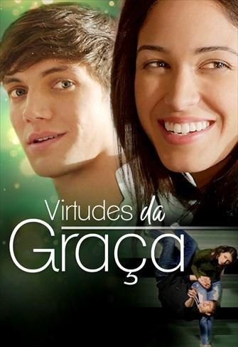 imagem filmes - capa virtude da graça - dois jovens casal - menina sorrindo