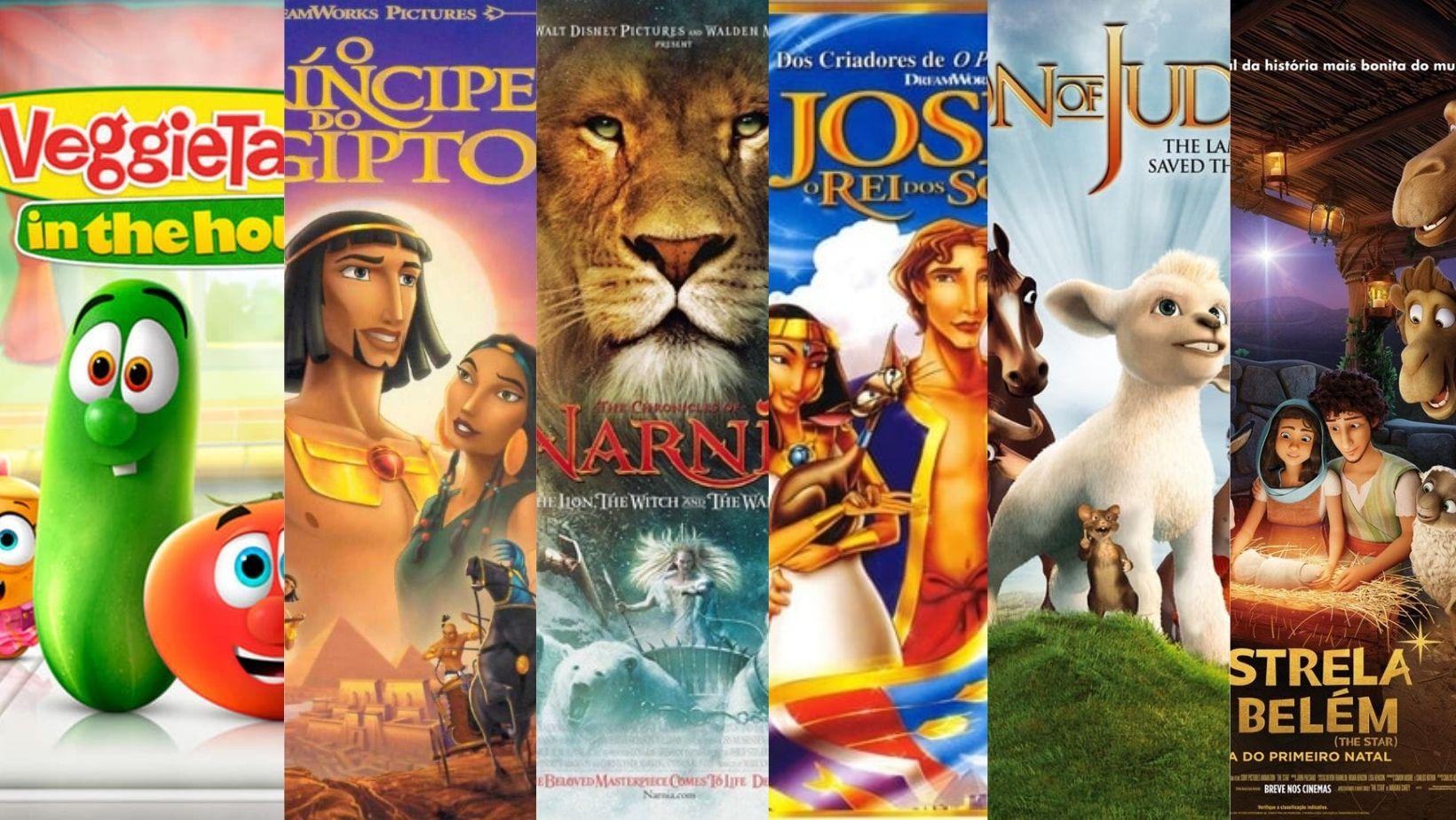 imagem filmes bíblicos infantis